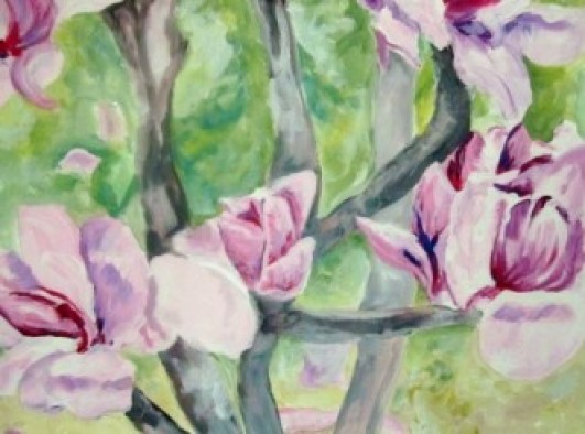 Spring Floral Painting